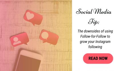 Social Media Tip: Instagram Follow-For-Follow Pitfalls